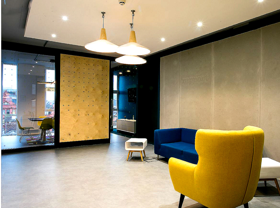 Fit-out for the Hive – Northern Quarter