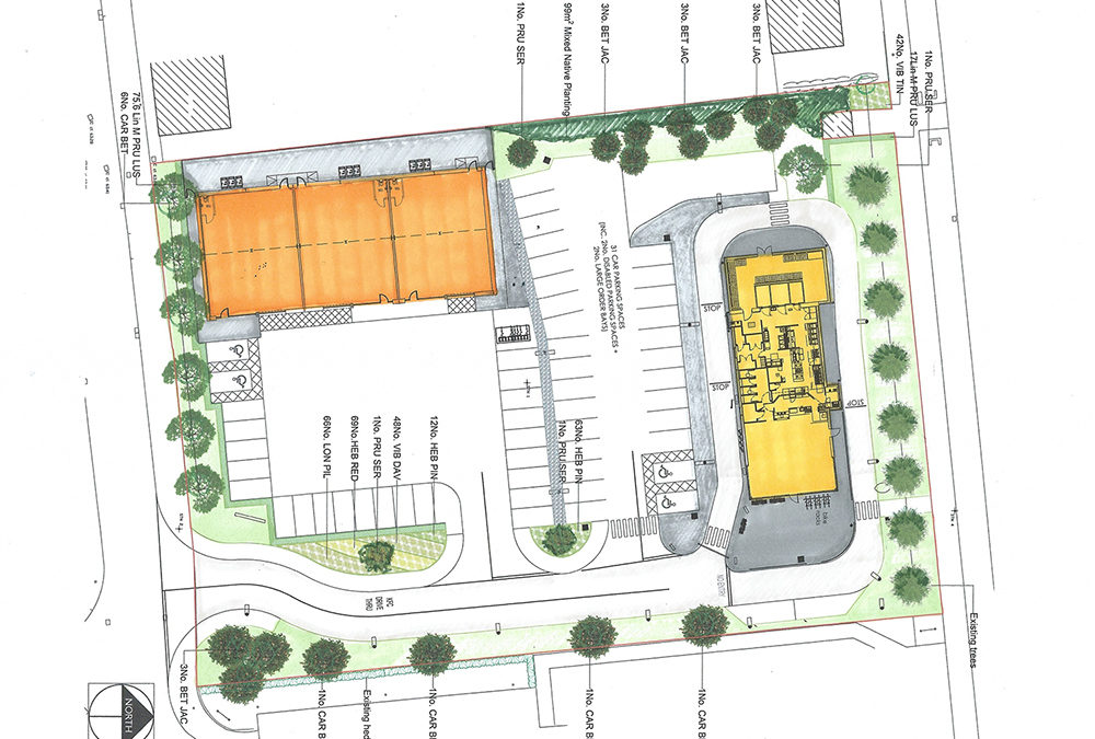 Buckshaw Village, Chorley planning consent – KFC drive-through and B1 units