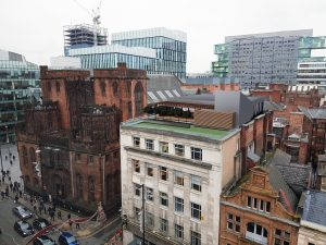 Rooftop offices Grampian House Manchester